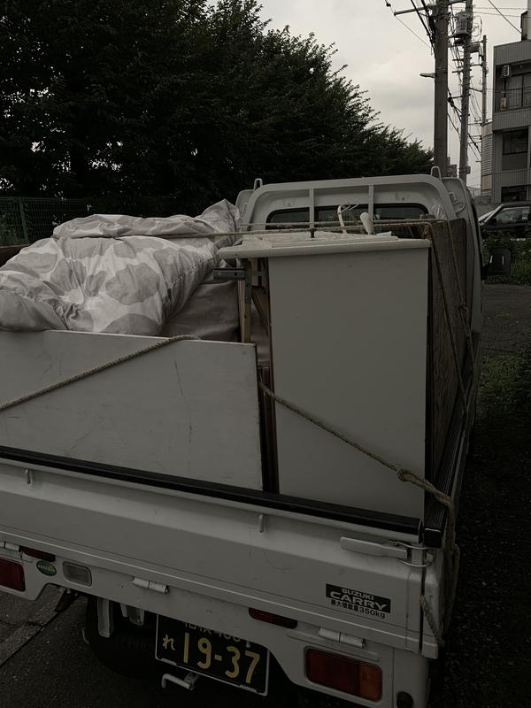 平塚市でベッドや布団の回収をしましたのサムネイル