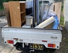 藤沢市で洗濯機やベッドの回収をしました