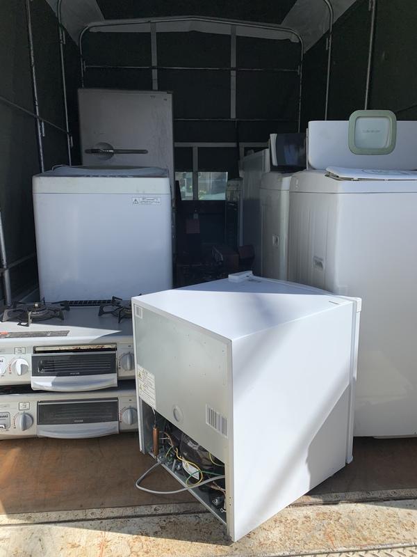座間市周辺で冷蔵庫、洗濯機、ガスコンロなどを回収しましたのサムネイル