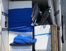 横浜市緑区にて冷蔵庫、ソファー、ベッドなどの回収をしました