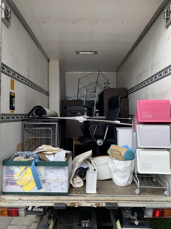 府中市で冷蔵庫や洗濯機、ベッド、ソファーなどの回収をしましたのサムネイル