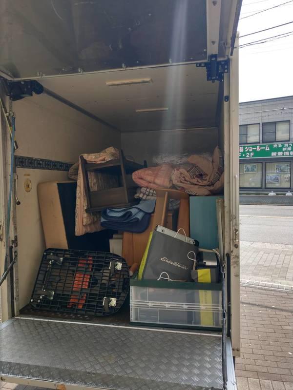東京都東大和市でベッドやキャビネット、勉強机などの回収をしましたのサムネイル