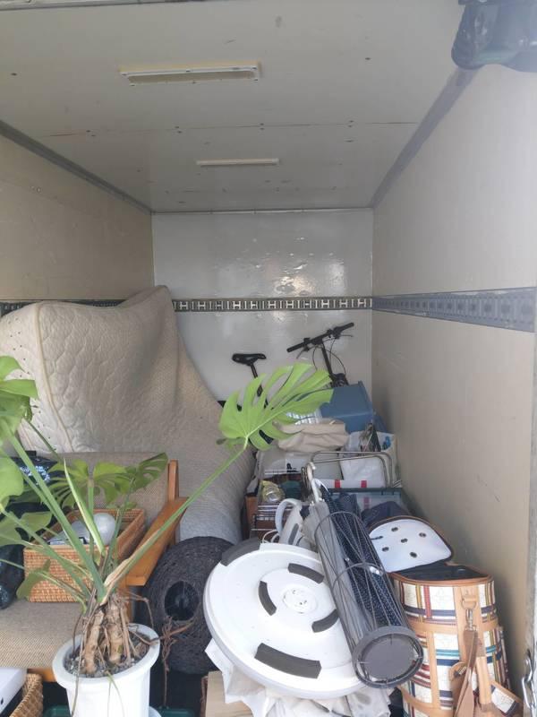 横浜市旭区にてクイーンサイズマットレスや自転車の回収をしましたのサムネイル