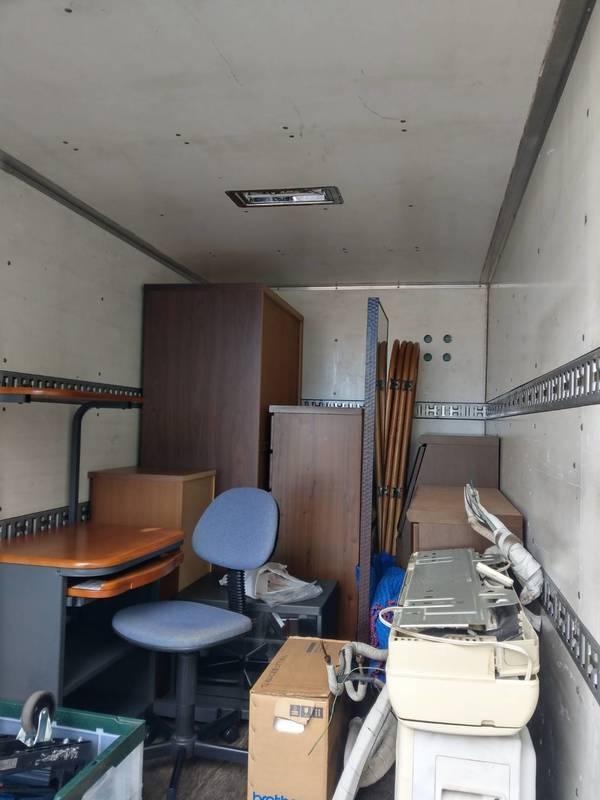 横浜市鶴見区でエアコンやタンス、PC机などを回収しましたのサムネイル