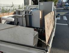 東京都中野区で冷蔵庫や洗濯機、こたつなどの回収をしました