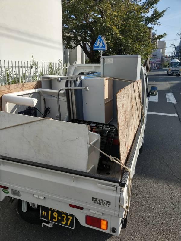 東京都中野区で冷蔵庫や洗濯機、こたつなどの回収をしましたのサムネイル