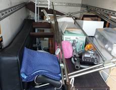 東京都台東区にて食器棚やソファーベッドなどの回収をしました