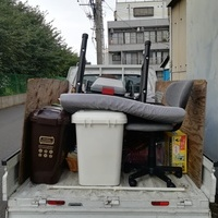 川崎市多摩区にてベッドやテーブル、椅子などの回収をしましたのサムネイル