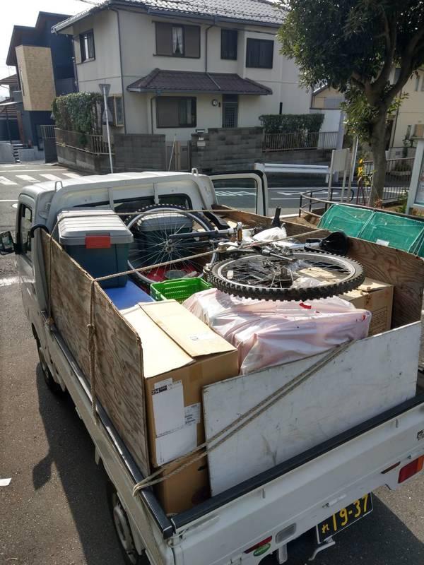 東京都あきる野市で自転車や物置の中のものを回収しましたのサムネイル
