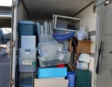 川崎市中原区にて布団や棚、衣装ケース、エアコンなどの回収をしました
