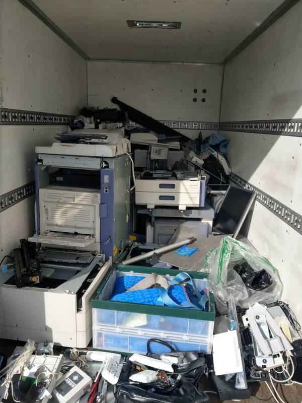 東京都千代田区にて複合機やパソコンなどの回収をしましたのサムネイル
