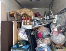 東京都小金井市にてソファーや冷蔵庫、洗濯機等の回収をしました