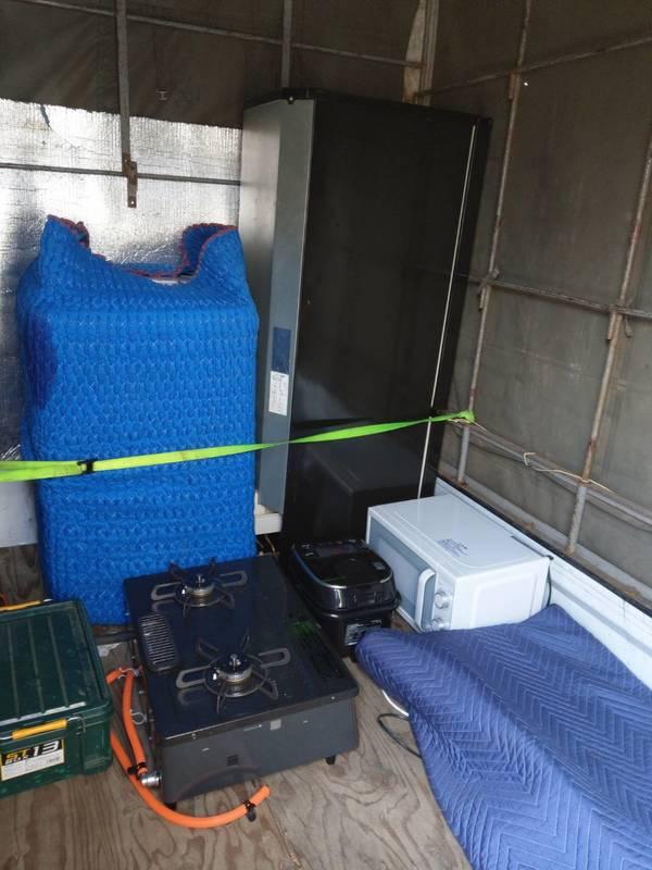 横浜市南区にて洗濯機の買取および冷蔵庫やガスコンロの回収を行いましたのサムネイル