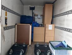 八王子市で冷蔵庫やカラーボックス、棚などの回収をしました