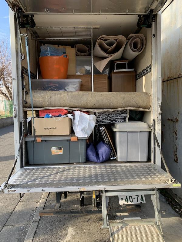 大和市でタンスや冷蔵庫、衣装ケースやカーペットなどの回収をしましたのサムネイル